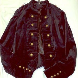 HM Black Velvet Blazer